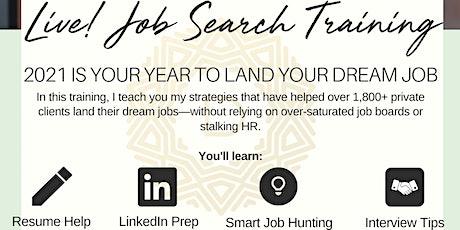LIVE! Job Search DIY Training tickets