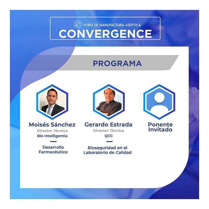 Imagen de Convergence | Foro de Manufactura Aséptica