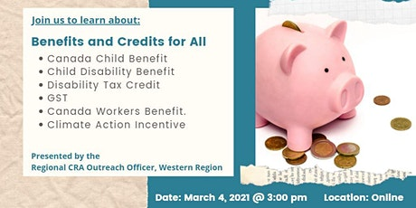 Benefits and Credits for All: CRA Presentation tickets
