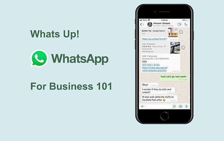 Digital Masterclass Series: WhatsApp for Business 101 image