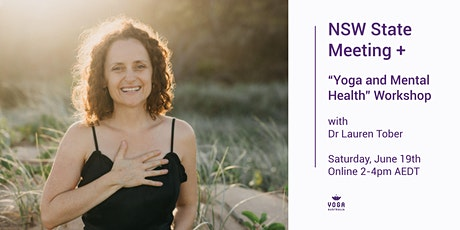"NSW State Meeting + ""Yoga and Mental Health"" Workshop tickets"