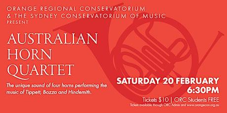 Australian Horn Quartet tickets