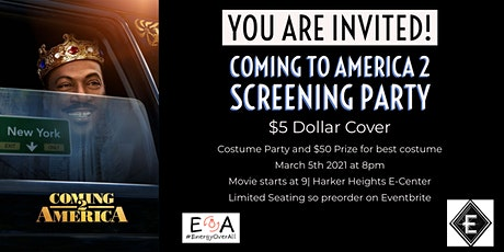 Coming to America 2 Watch Party tickets