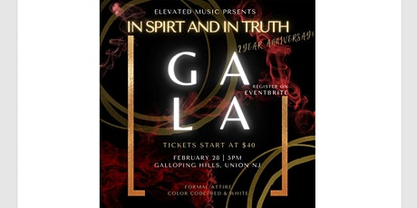 Come Worship Second Anniversary Gala tickets