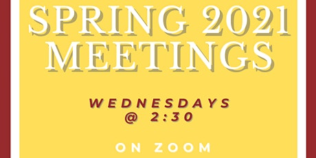 CSA Spring 2021 General Meetings tickets