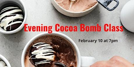 Evening Hot Cocoa Bomb Class tickets