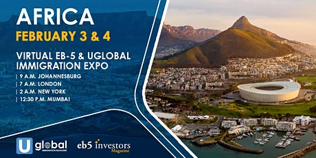2021 Virtual EB-5 & Uglobal Immigration Expo Africa tickets