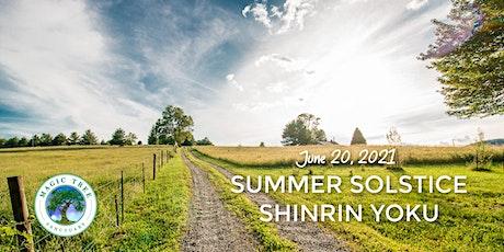 Summer Solstice Shinrin Yoku tickets