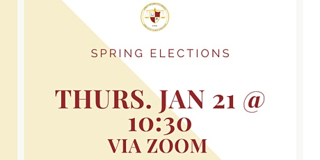 CSA Spring 2021 Elections tickets
