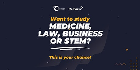 Find a Career in Medicine, Business, Law or STEM tickets