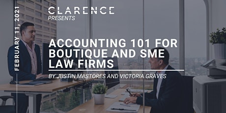 Accounting 101 for Boutique and SME Law firms tickets