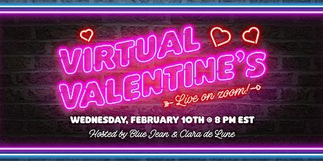 Virtual Valentine's, LIVE on ZOOM tickets