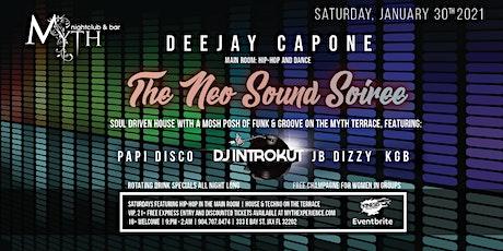 """Neo Sound Soiree"" at Myth Nightclub | Saturday 01.30.21 tickets"