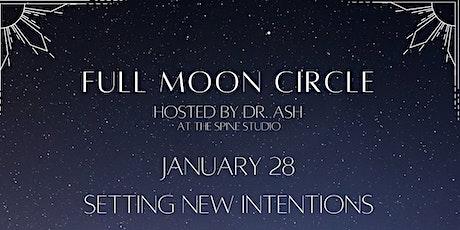 Full Moon Circle - January tickets