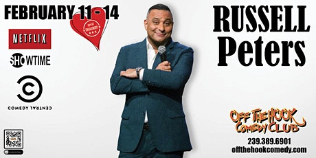Comedian Russell Peters  Stand Up Comedy in Naples, Florida tickets