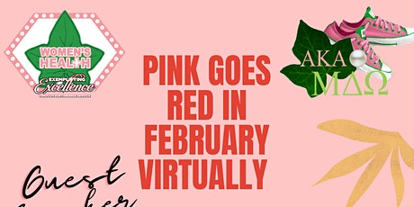 PINK GOES RED VIRTUAL EVENT tickets