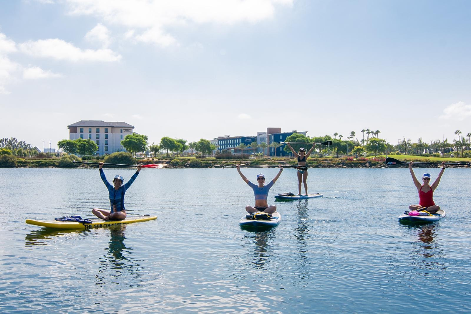 SUP Yoga (Stand Up Paddleboard Yoga)