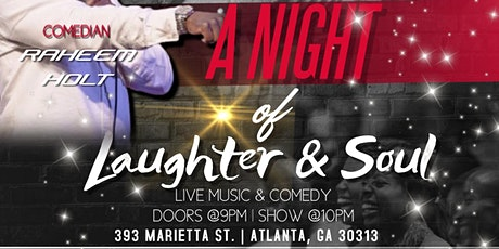 Laughter and Soul tickets