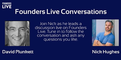 Founders Live Conversations With David Plunkett of BugSplat tickets
