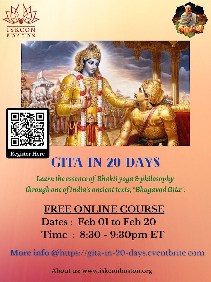 Gita in 20 days image