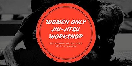 Women Only Jiu-Jitsu Class! tickets