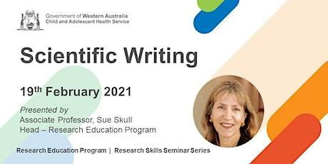 Scientific Writing - 19 Feb tickets