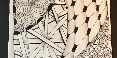 Zentangle Basics Pattern Drawing Class tickets