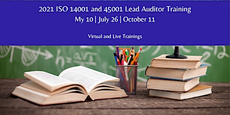 Jasper ISO 14001 and/or 45001 Lead Auditor Course tickets