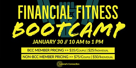 Online Financial Fitness Bootcamp (via Zoom) tickets