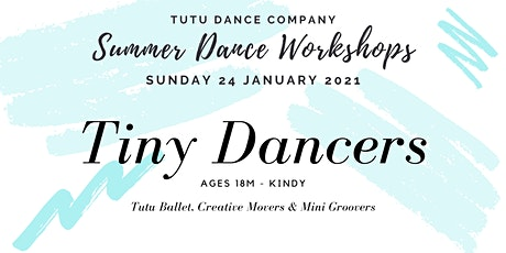 Tiny Dancers workshop: Sunday tickets