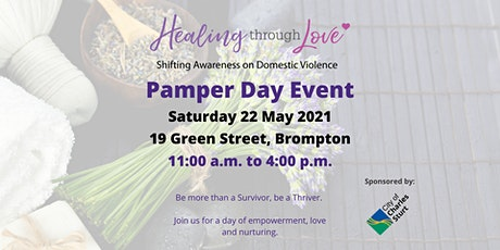 Healing Through Love Pamper Day 2021 tickets