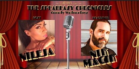 THE SPEAKEASY CHRONICLES Comedy Wednesdays tickets