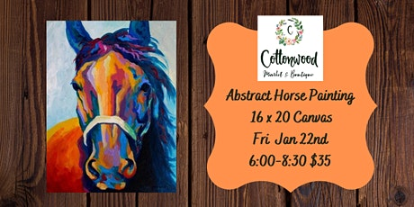 Abstract Horse Paint Night tickets
