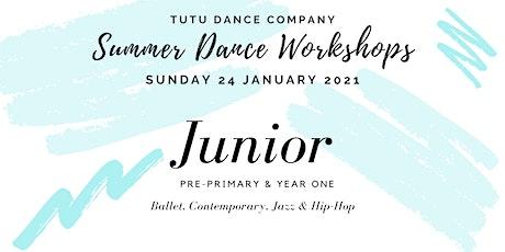 Junior Dancers workshop: Sunday tickets