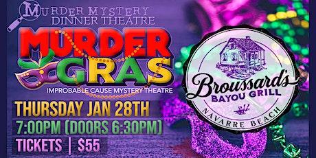 Murder Gras - a Mardi Gras themed murder mystery dinner @ Broussard's tickets