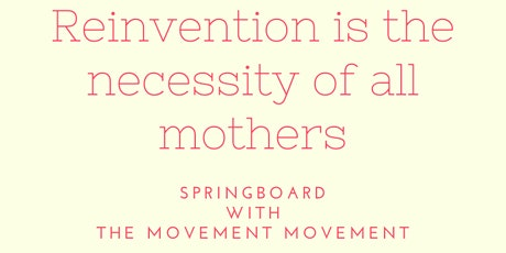 Springboard with The Movement Movement - Mondays tickets