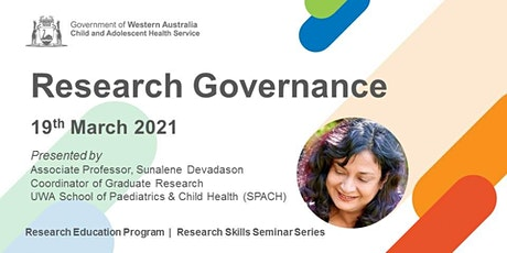 Research Governance - 19 Mar tickets