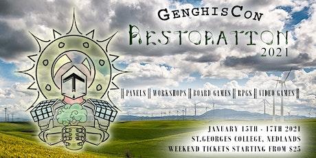 GenghisCon 2021 Restoration tickets