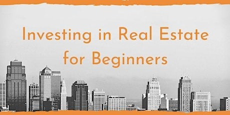 Real Estate Investing for beginners tickets
