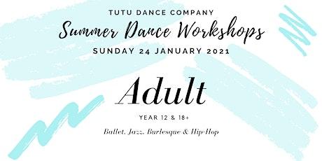 Adult Dancers workshop: Sunday tickets