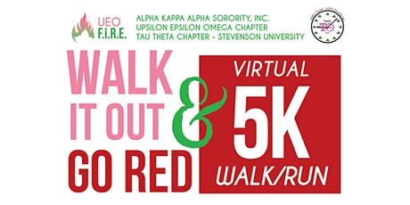 Walk It Out & Go Red 5K Walk/Run tickets