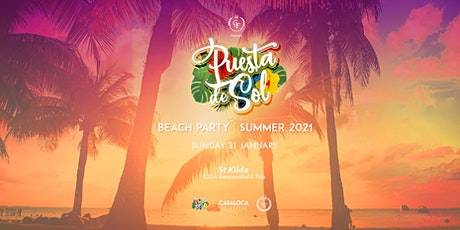 Puesta De Sol | Summer Beach Party | 31 January 2021 tickets