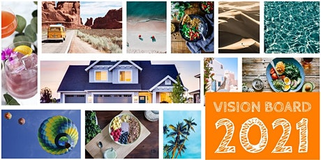 Virtual Vision Board & Create Party tickets