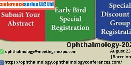 2nd World Congress on  Ophthalmology & Optometry tickets