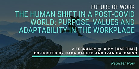 The Human Shift in a post-covid world tickets