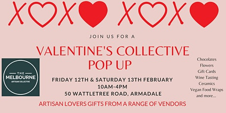 The Valentine's Pop Up @ Melbourne Artisan Collective tickets
