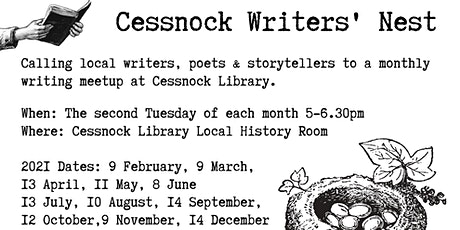 Cessnock Writers' Nest tickets