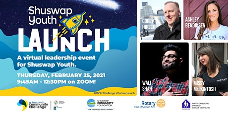 Shuswap Youth Launch tickets