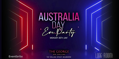 Australia Day Eve Party! tickets