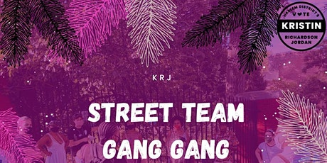 Street Team Gang Gang (Every Day 1pm - 3pm) tickets
